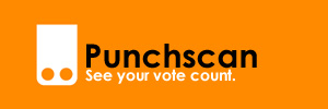 Punchscan; see your vote count