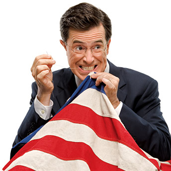 Colbert running for president